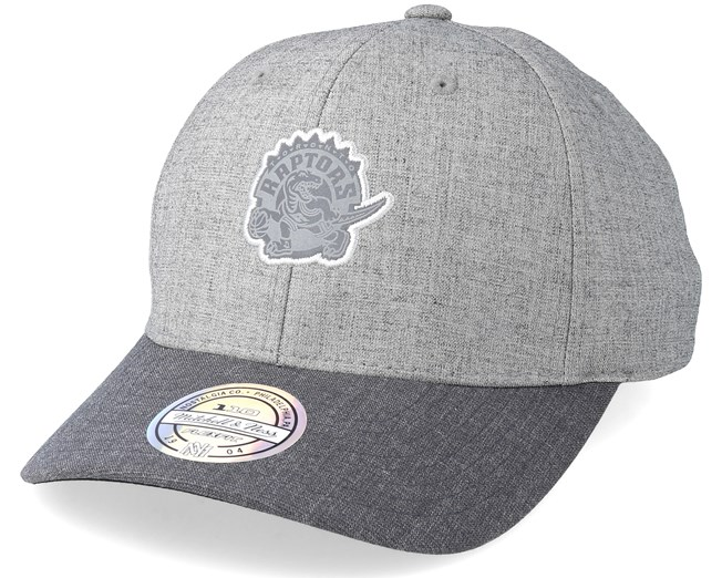 bf0cfd92ae1691 Toronto Raptors Beam Heather Grey 110 Adjustable - Mitchell & Ness caps |  Hatstore.ie