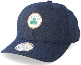 Boston Celtics Kraft Navy 110 Adjustable - Mitchell & Ness