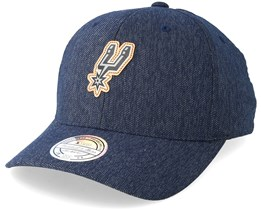 San Antonio Spurs Kraft Navy 110 Adjustable - Mitchell & Ness