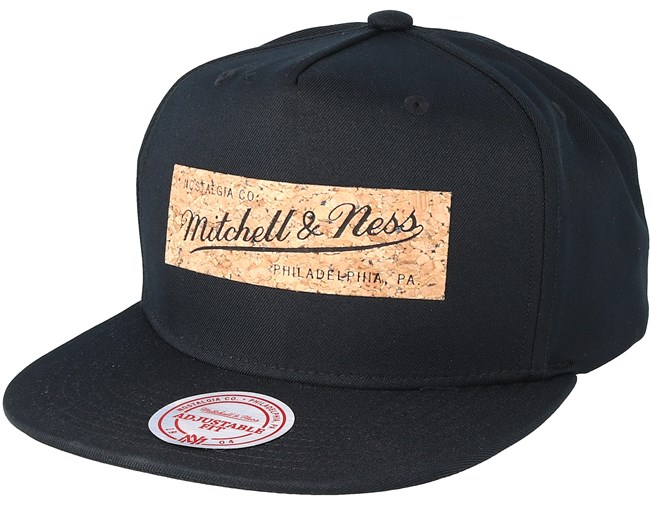 722535e4693 Own Brand Cork Black Snapback - Mitchell   Ness caps - Hatstoreworld.com