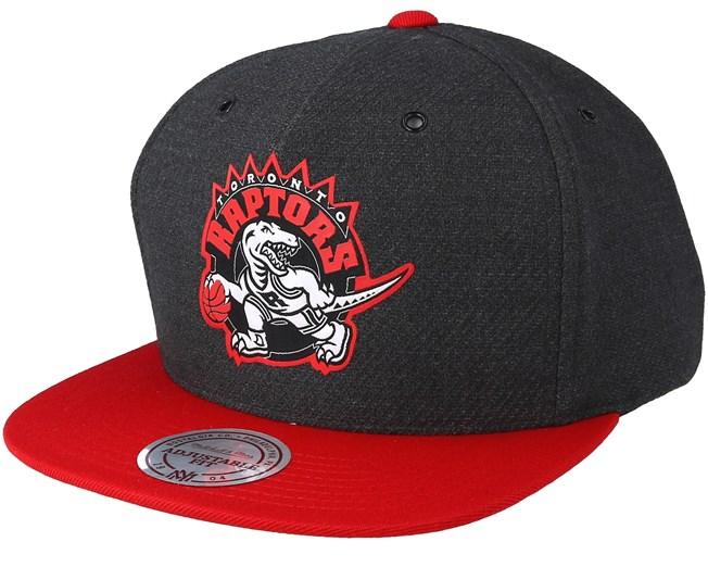 d860037db Toronto Raptors Reflective Charcoal Snapback - Mitchell & Ness caps ...