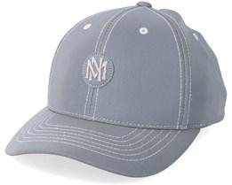 Own Brand Interlocked Reflective Grey Adjustable - Mitchell & Ness