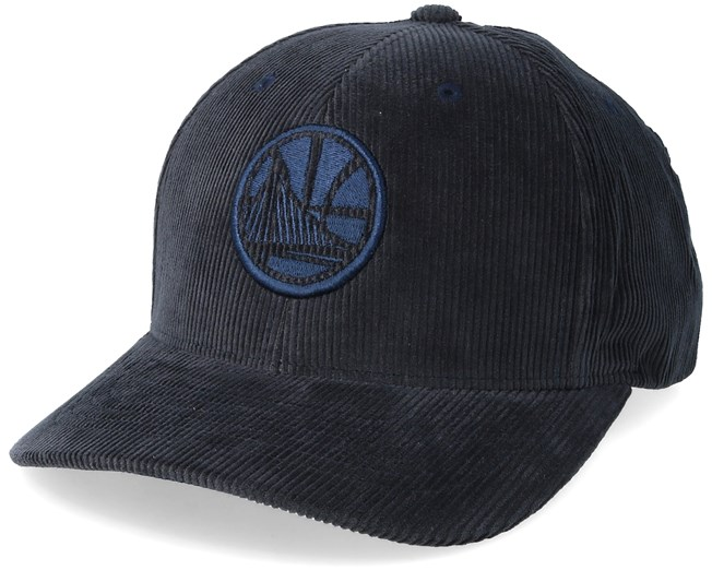 2be8cbc6511 Golden State Warriors Cord Navy Adjustable - Mitchell   Ness caps ...
