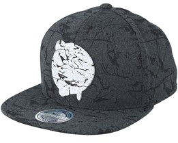 Boston Celtics Marble Charcoal Snapback - Mitchell & Ness