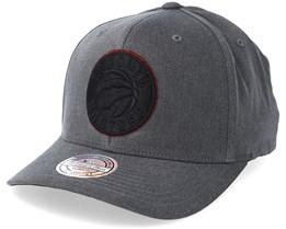 Toronto Raptors Washed Denim Charcoal Adjustable - Mitchell & Ness