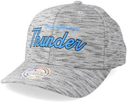 Oklahoma City Thunder Slub Print Grey 110 Adjustable - Mitchell & Ness