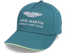 Kids Aston Martin F1 Team Cap Green Adjustable - Formula One