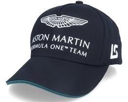 Kids Aston Martin F1 Driver LS Cap Black Adjustable - Formula One