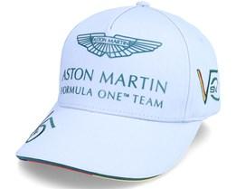 Kids Aston Martin F1 Driver SV Cap Grey Adjustable - Formula One