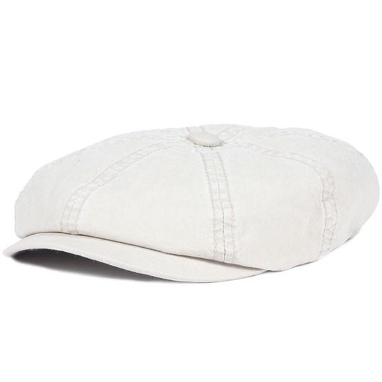 Keps Hatteras Delave Organic Cotton Beige - Stetson - Vit Flat Caps