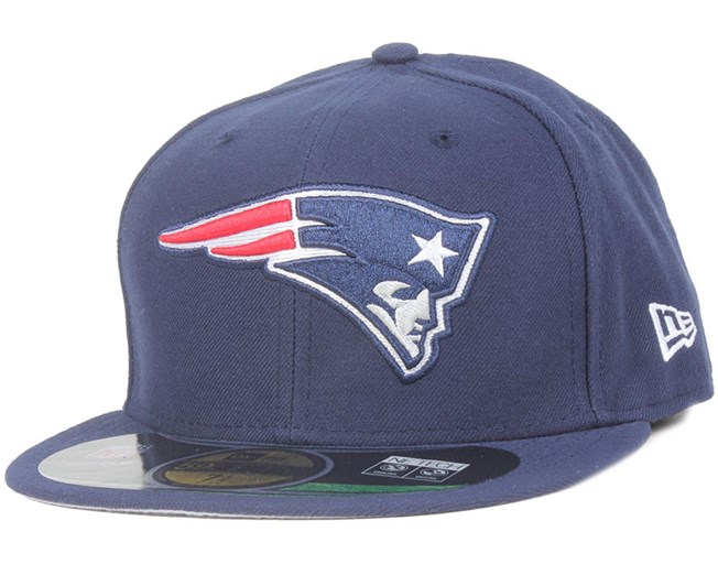 New England Patriots NFL On Field Game 59Fifty - New Era caps ... 7f15176dc912
