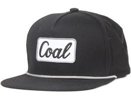 The Palmer Black Snapback - Coal