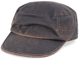Casual Cotton Mix Brown Army - MJM Hats