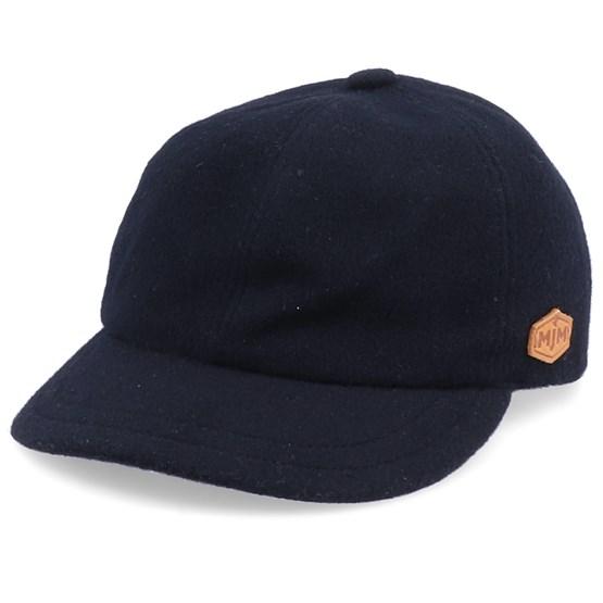 Keps El Wool/Cashmere Black Ear Flap - MJM Hats - Svart Öronlappar