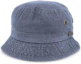 Bucket Enzyme Cotton Black Bucket - MJM Hats