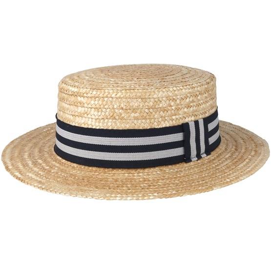 Hatt Adam Natural Straw Hat - MJM Hats - Beige Strå