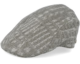 Maddy 100% Cotton Olive Flat Cap - MJM Hats