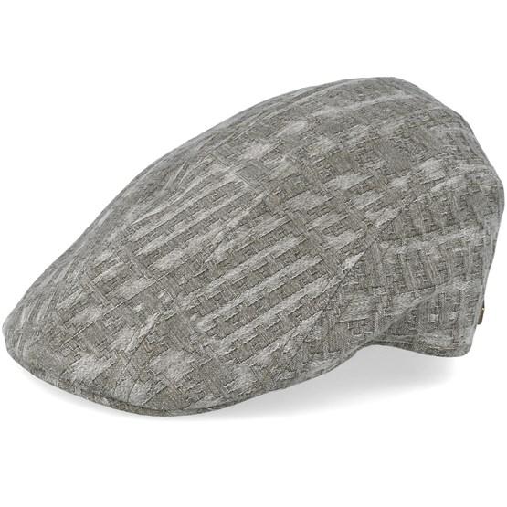 Keps Maddy 100% Cotton Olive Flat Cap - MJM Hats - Grön Flat Caps