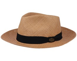 Earnest Panama Biscotto Straw Hat - MJM Hats