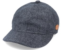 Baseball El 100% Eco Merino Wool Anthracite Ear Flap - MJM Hats