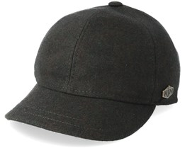 Baseball El 100% Eco Merino Wool Loden Dark Grey Fitted - MJM Hats 012614f79be3