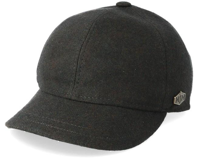Baseball El 100% Eco Merino Wool Loden Dark Grey Fitted - Stetson ... f7df8e18297