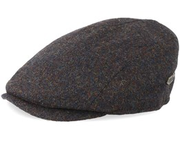 Bang Wool Mix Brown Flat Cap - MJM Hats
