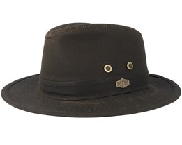 Haarlem 10158 Wax Cotton Brown Traveller - MJM Hats
