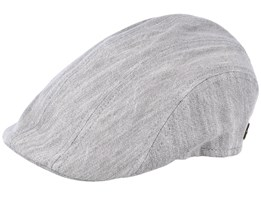 a1c5eb685 Maddy Cotton Grey Jeans Flat Cap - MJM Hats