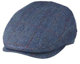 Jordan Silk Blue Flat Cap - MJM Hats