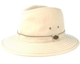 Travel Cotton Mix Khaki Traveller - MJM Hats