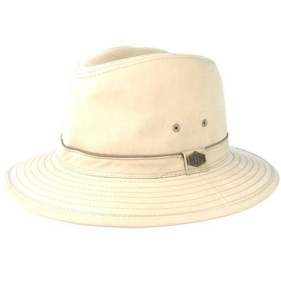 Hatt Travel Cotton Mix Khaki Traveller - MJM Hats - Beige Traveller