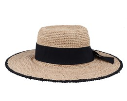 Petunia Women Raffia Natural Sun Hat - MJM Hats