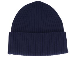 Merino Wool Navy Cuff - MJM Hats