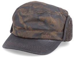 Shagen EL Cotton Brown Camo Army Ear Flap - MJM Hats