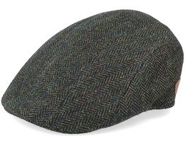 Maddy 100% Virgin Wool Green Herring Flat Cap - MJM Hats