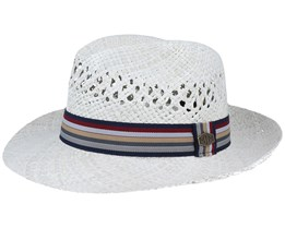 Robyn Straw Natural White Straw Hat - MJM Hats