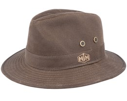 Dijk Cotton Brown Hat - MJM Hats