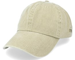 Baseball Dyed Cotton Twill Beige Dad Cap - MJM Hats