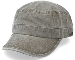 Cuba Dyed Cotton Twill Olive Army - MJM Hats