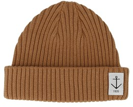 Smula Light Brown Shortbeanie - Resteröds
