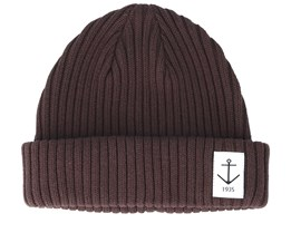 Smula Brown Shortbeanie - Resteröds