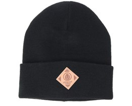 Official Fold Black Beanie - Upfront