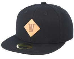 West Junior Black Snapback - State Of Wow