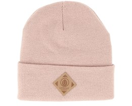 Official Fold Dusty Rose Beanie - Upfront