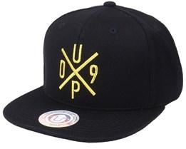 Hatstore Exclusive x UP09 Baseball Black/Gold Snapback - Upfront
