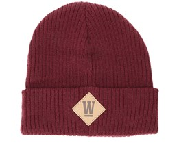 Kids West Junior Bordeaux Beanie - Upfront