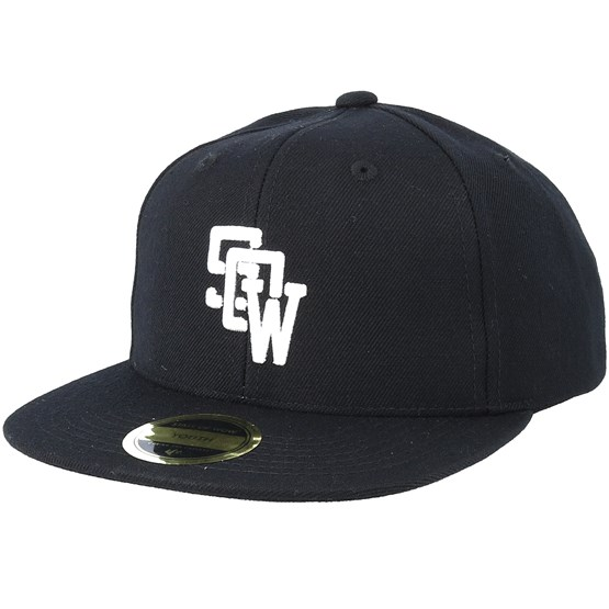 Keps Kids Drop Black Snapback - State Of Wow - Svart Snapback