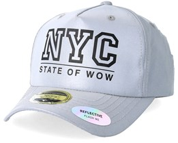 Kids Rexdale Reflective Grey Snapback - State Of Wow