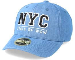 Kids NYC Youth Baseball Denim Adjustable - State Of Wow